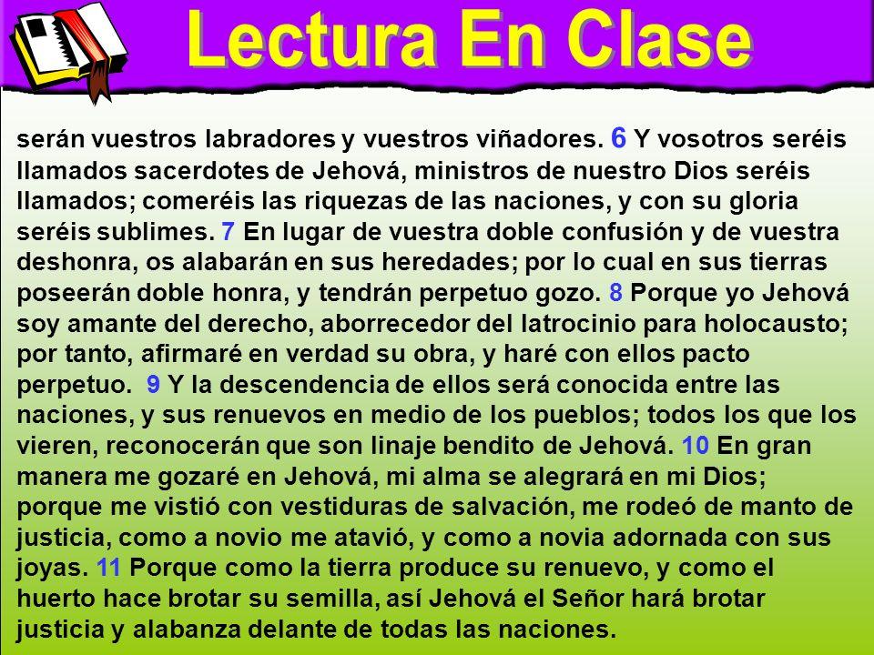 Lectura en clase B Lectura En Clase