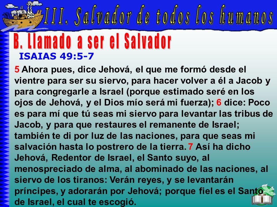 Salvador De Todos Los Humanos B