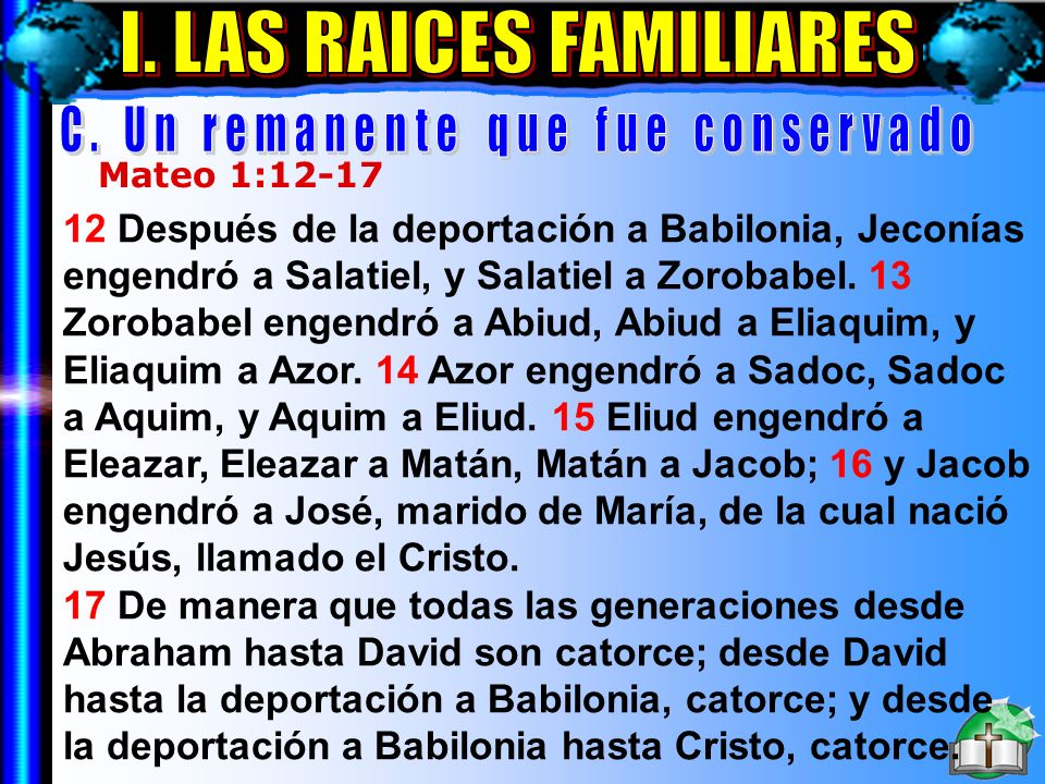 Las Raíces Familiares C