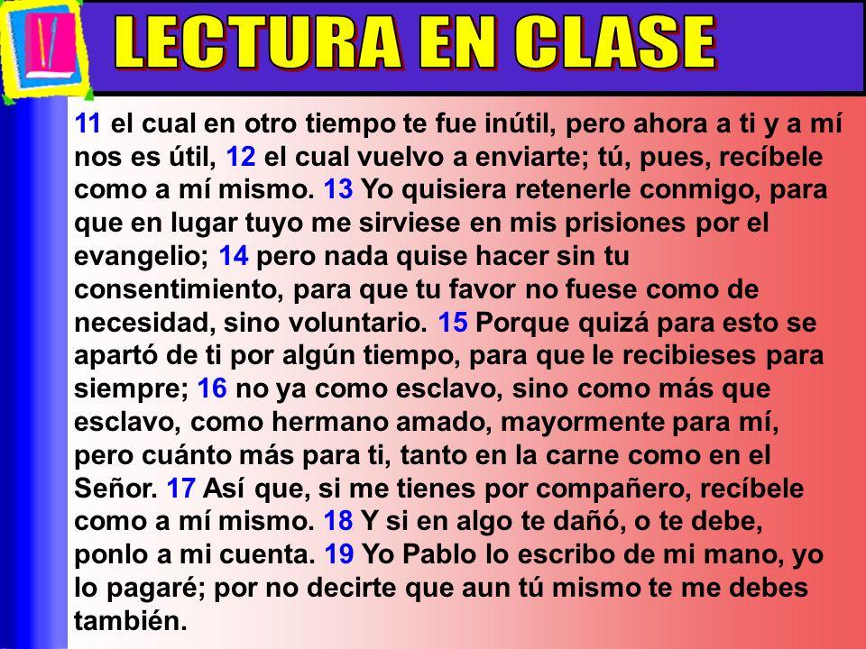 Lectura En Clase LECTURA EN CLASE