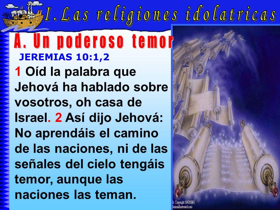 Las Religiones Idolatricas A