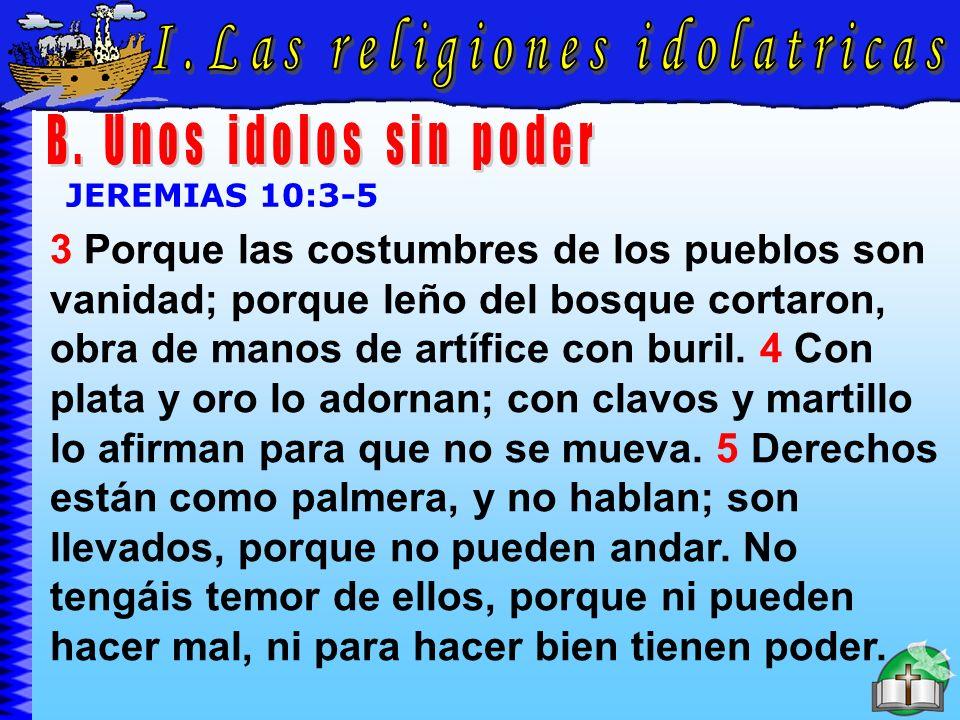 Las Religiones Idolatricas B