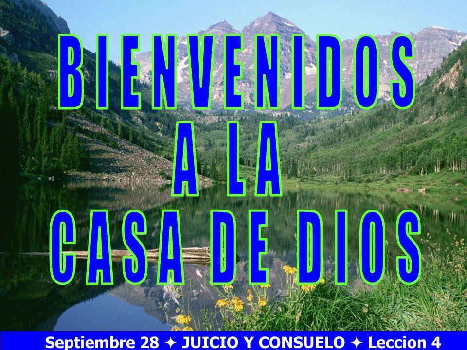 Septiembre 28  JUICIO Y CONSUELO  Leccion 4