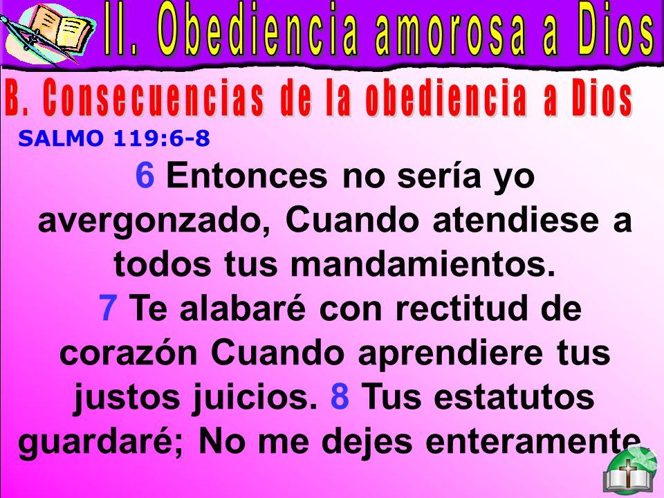Obediencia amorosa a Dios B