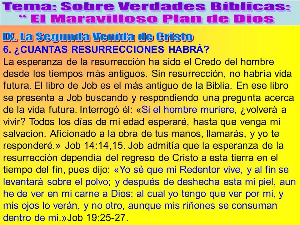 ¿Cuantas Resurrecciones Habrá A