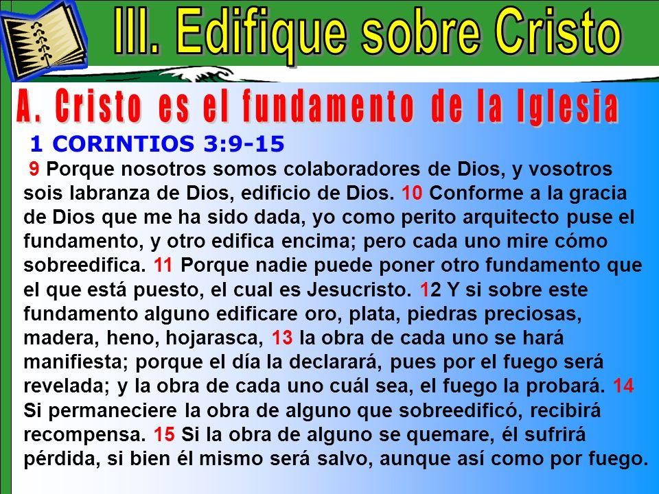 Edifique Sobre Cristo A
