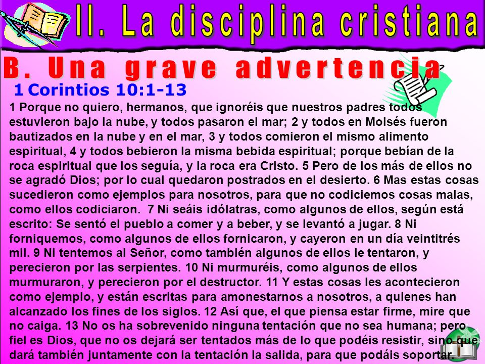 La Disciplina Cristiana B
