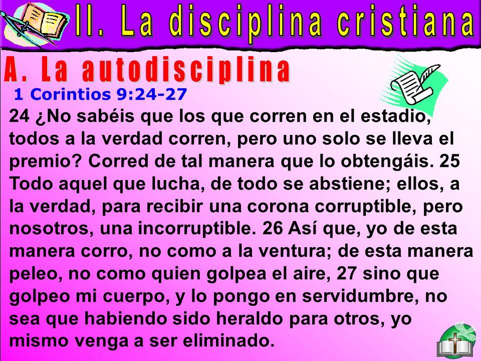 La Disciplina Cristiana A