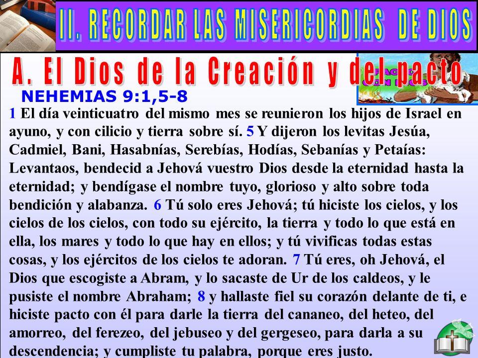 El Dios De La Creación Y Del Pacto A
