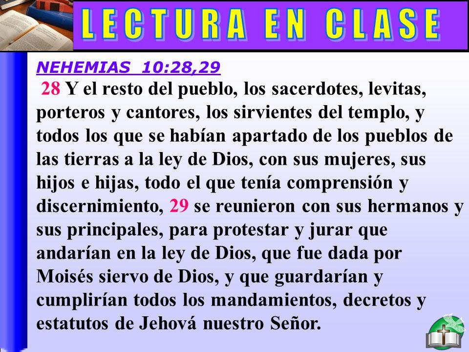 Lectura En Clase C LECTURA EN CLASE