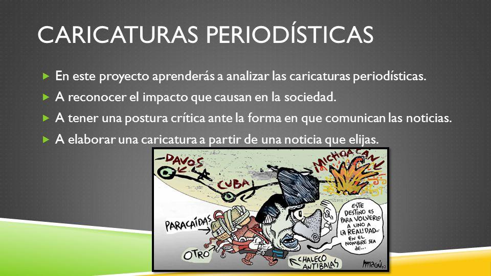 Caricaturas periodísticas