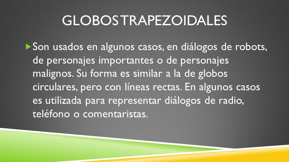 Globos trapezoidales