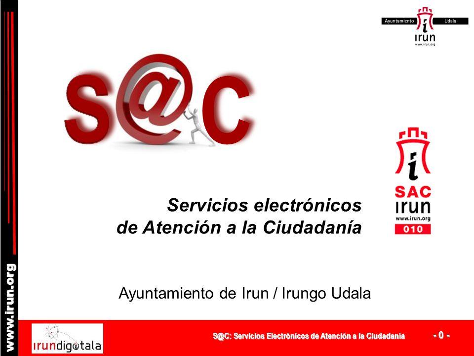 C S Servicios electrónicos de Atención a la Ciudadanía