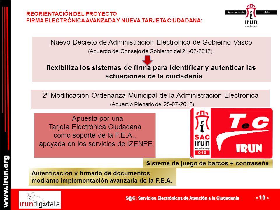 Nuevo Decreto de Administración Electrónica de Gobierno Vasco