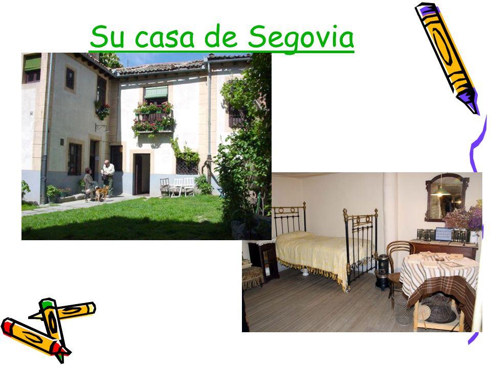 Su casa de Segovia