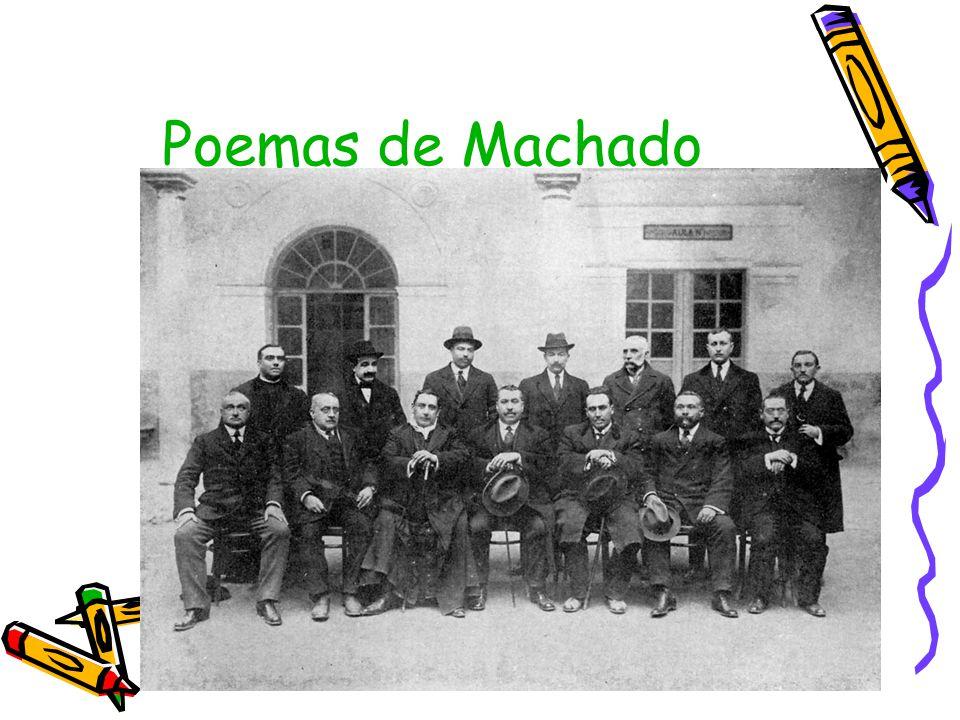 Poemas de Machado