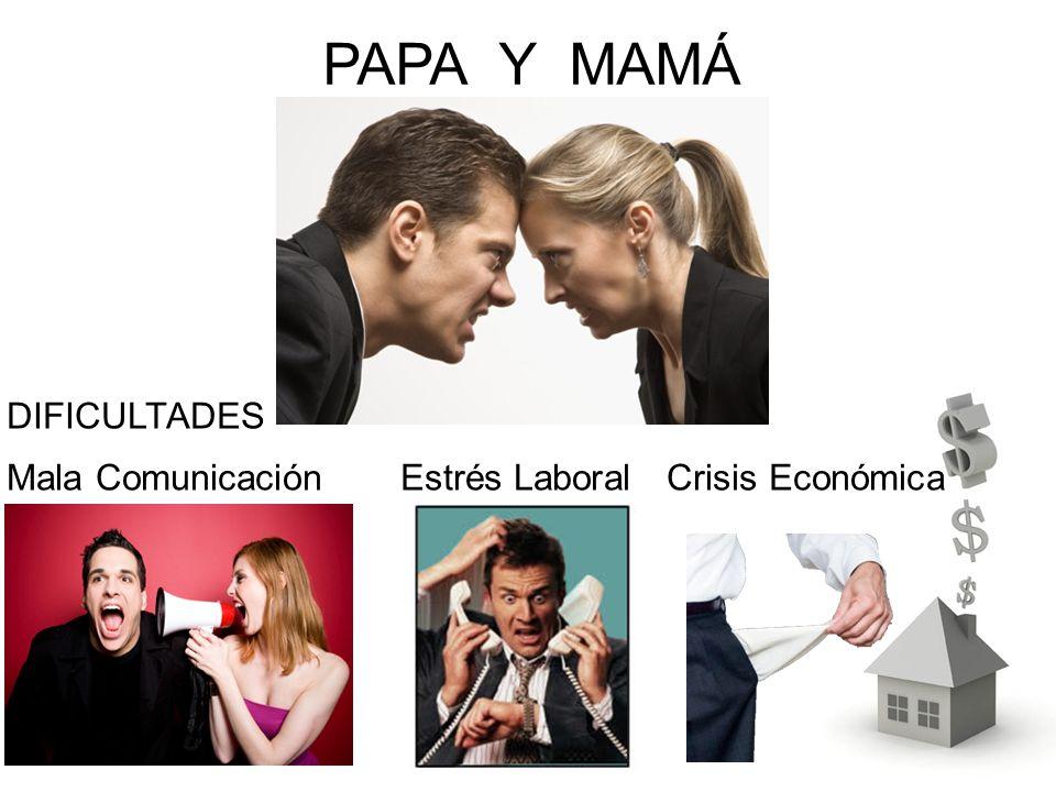 PAPA Y MAMÁ DIFICULTADES