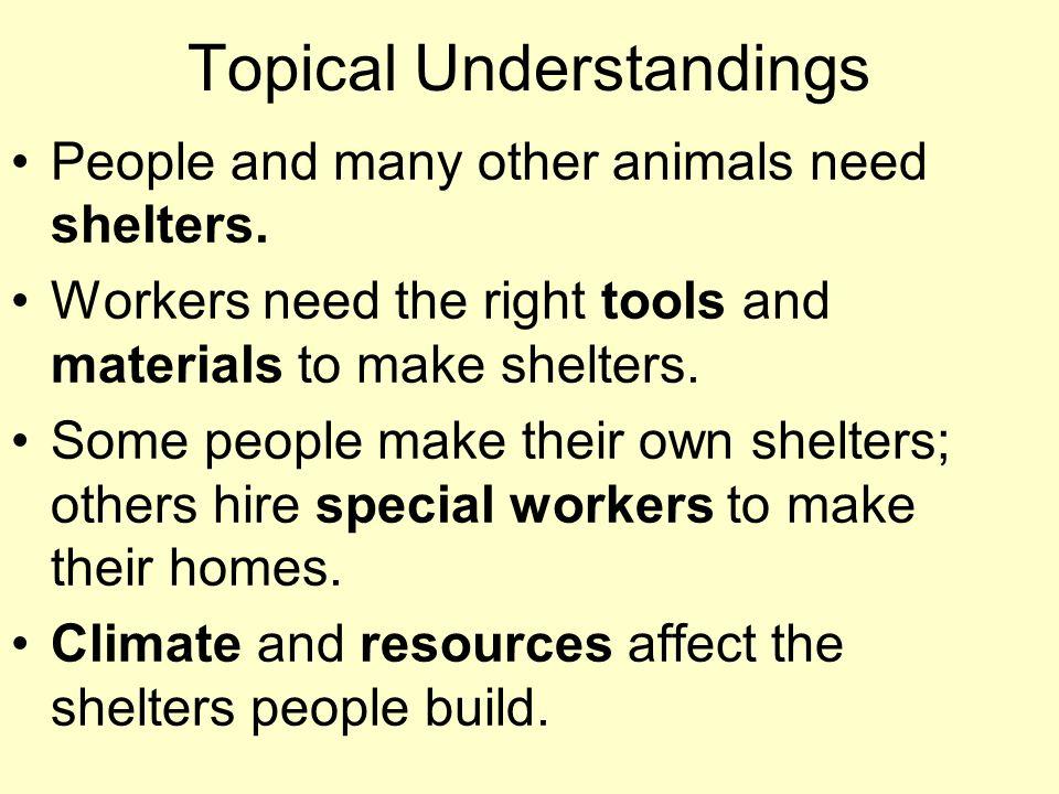 Topical Understandings