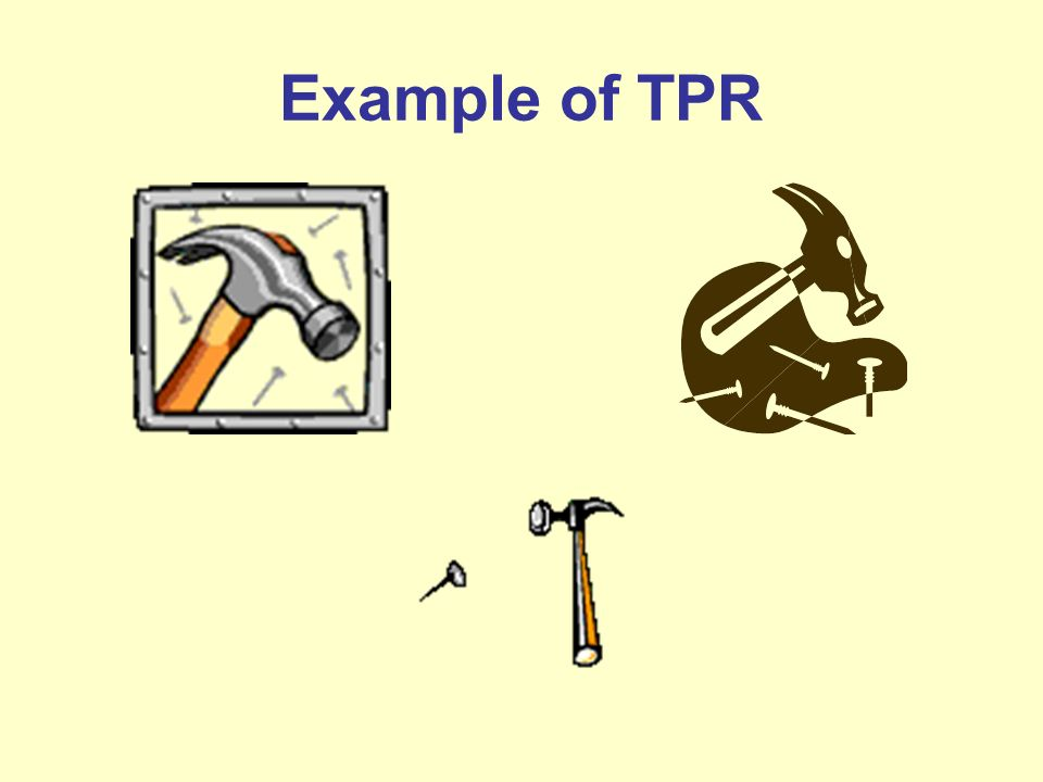 Example of TPR