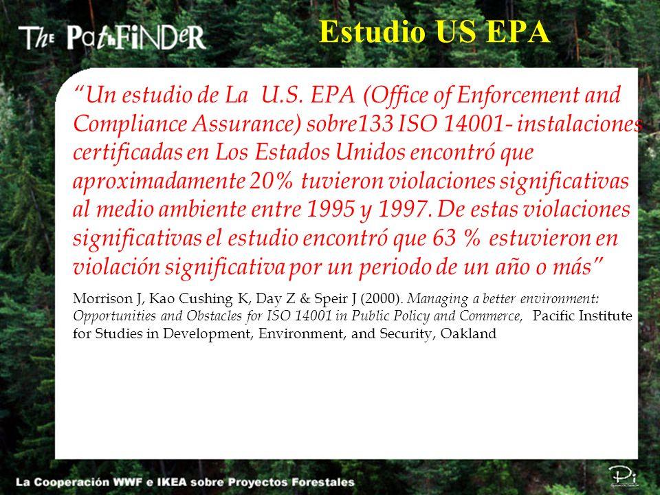 Estudio US EPA