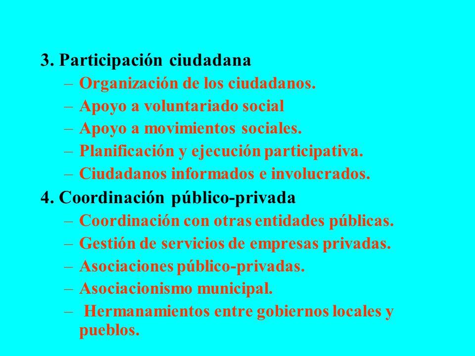 3. Participación ciudadana