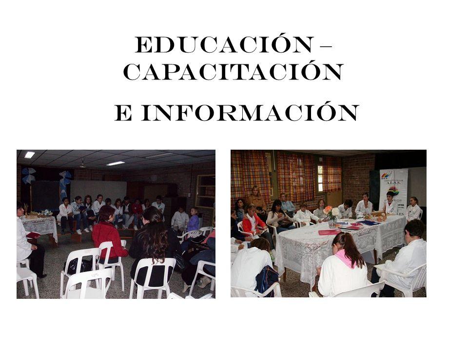 EDUCACIÓN – CAPACITACIÓN