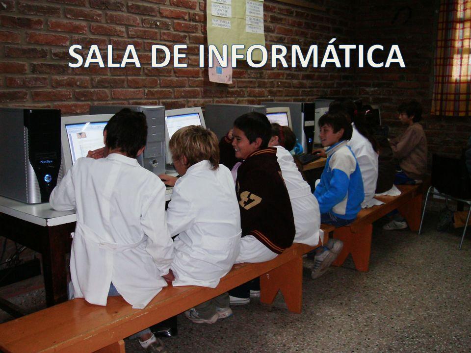 TALLER DE INFORMÁTICA SALA DE INFORMÁTICA