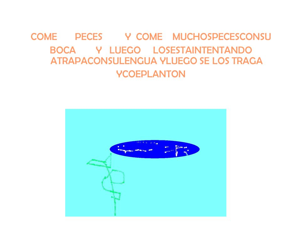 COME PECES Y COME MUCHOSPECESCONSU