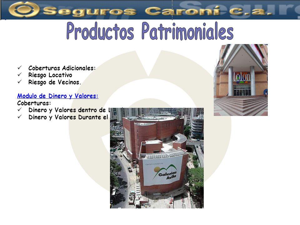 Productos Patrimoniales