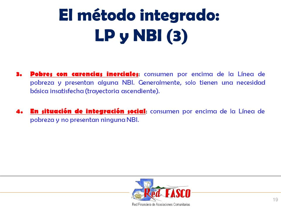 El método integrado: LP y NBI (3)