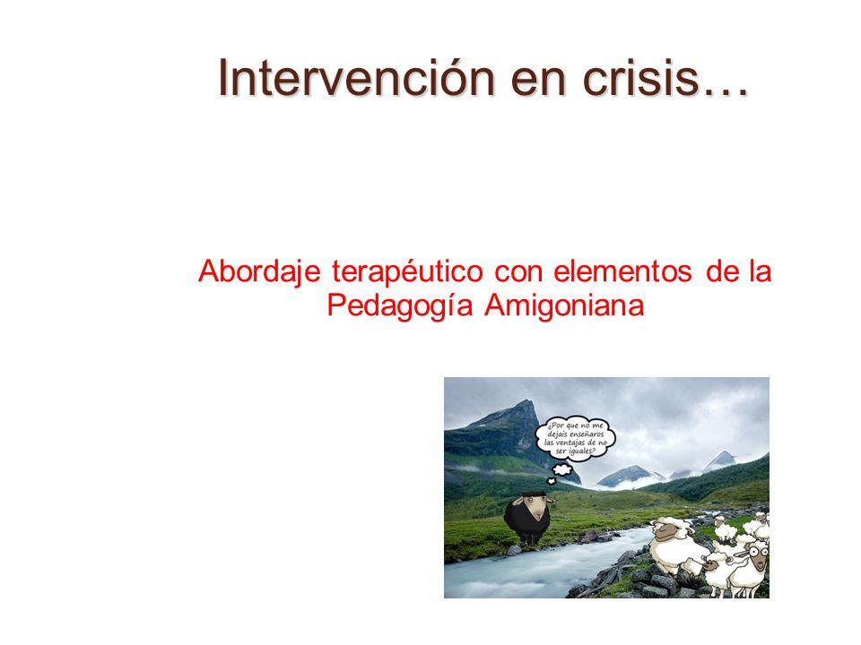 Intervención en crisis…