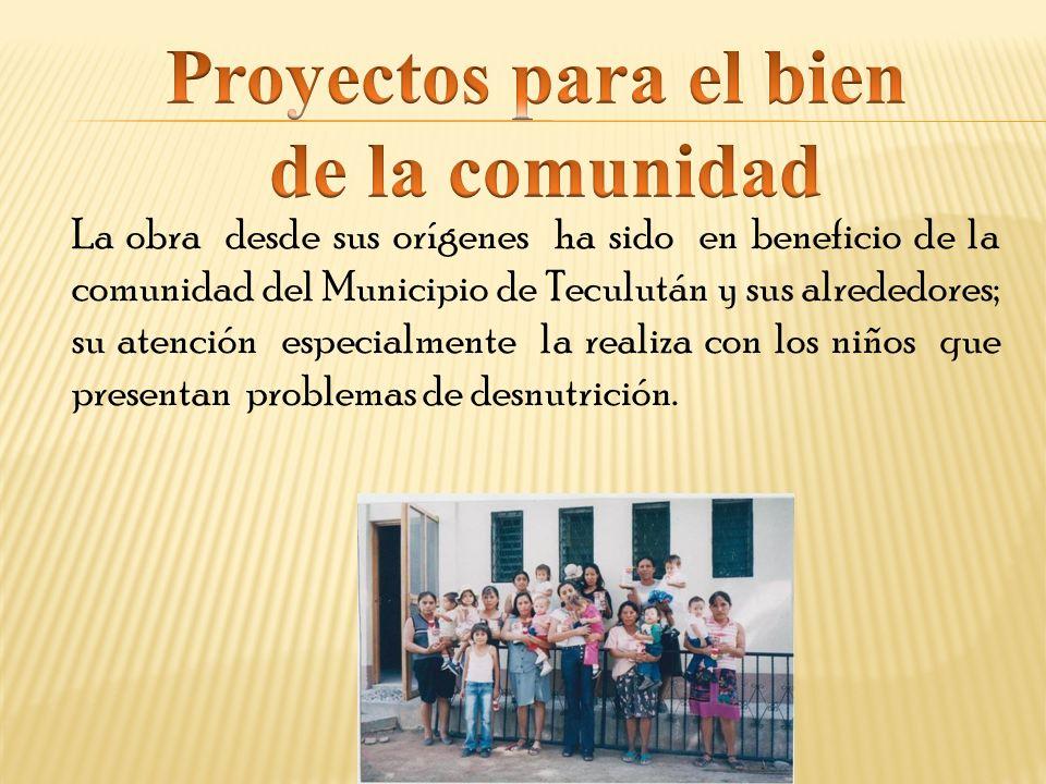 Proyectos para el bien de la comunidad