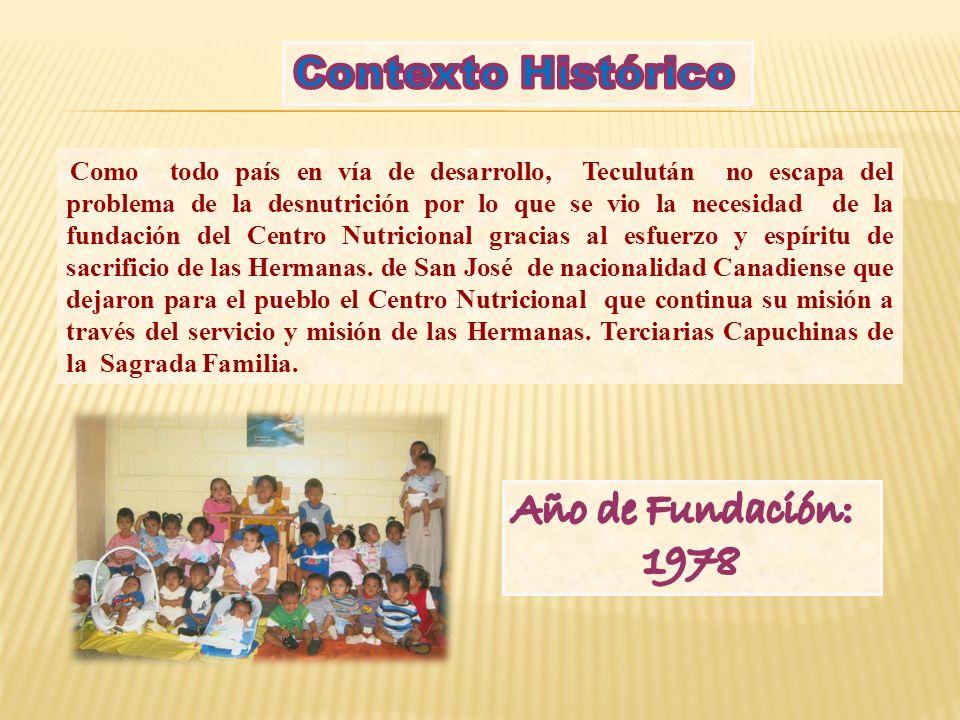 Contexto Histórico Año de Fundación: 1978
