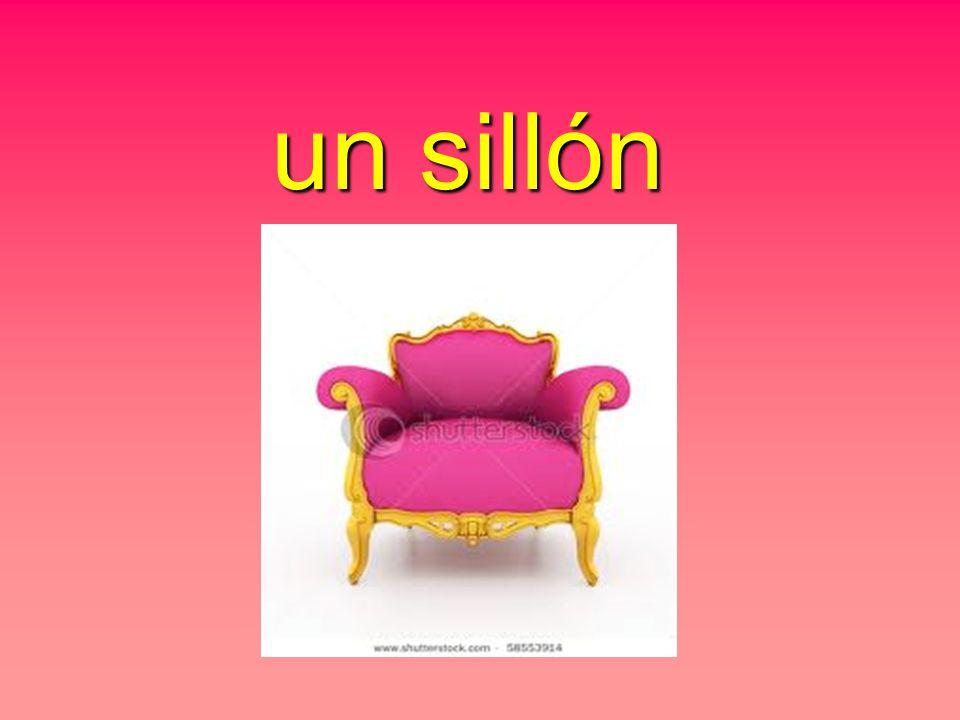 un sillón