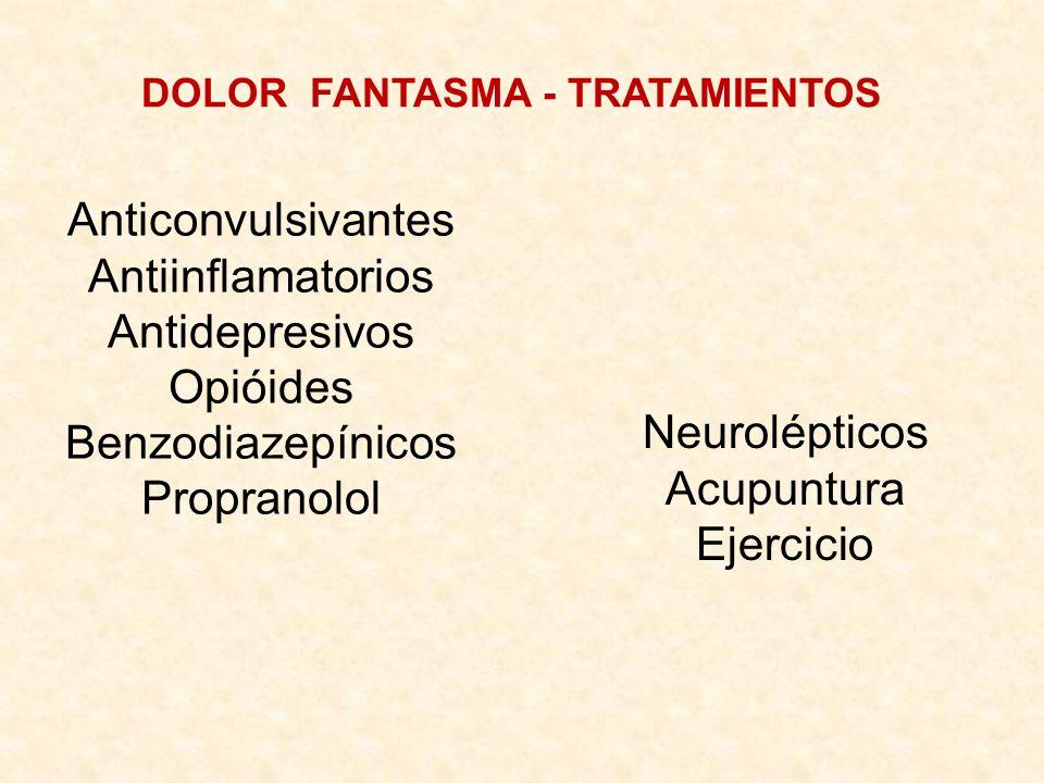 DOLOR FANTASMA - TRATAMIENTOS