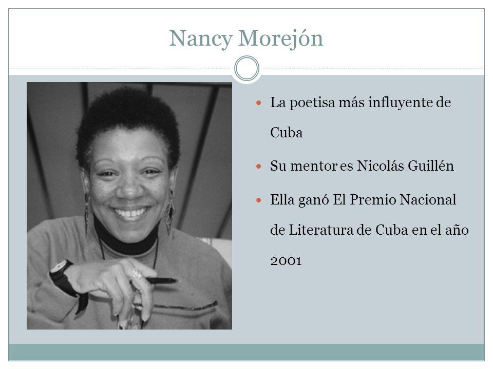 Nancy Morejón La poetisa más influyente de Cuba