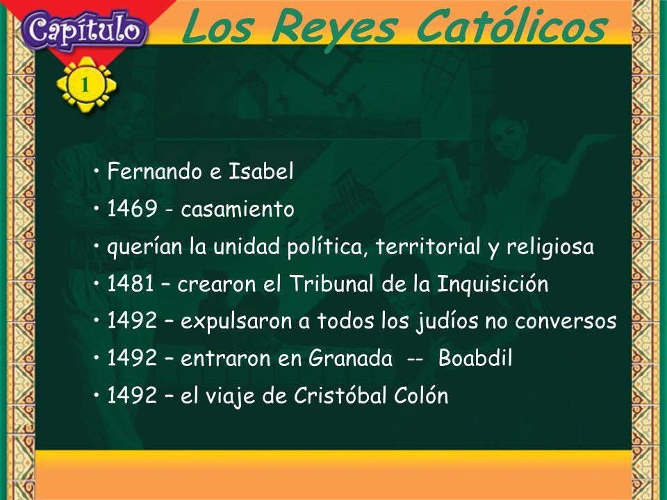 Los Reyes Católicos Fernando e Isabel 1469 - casamiento