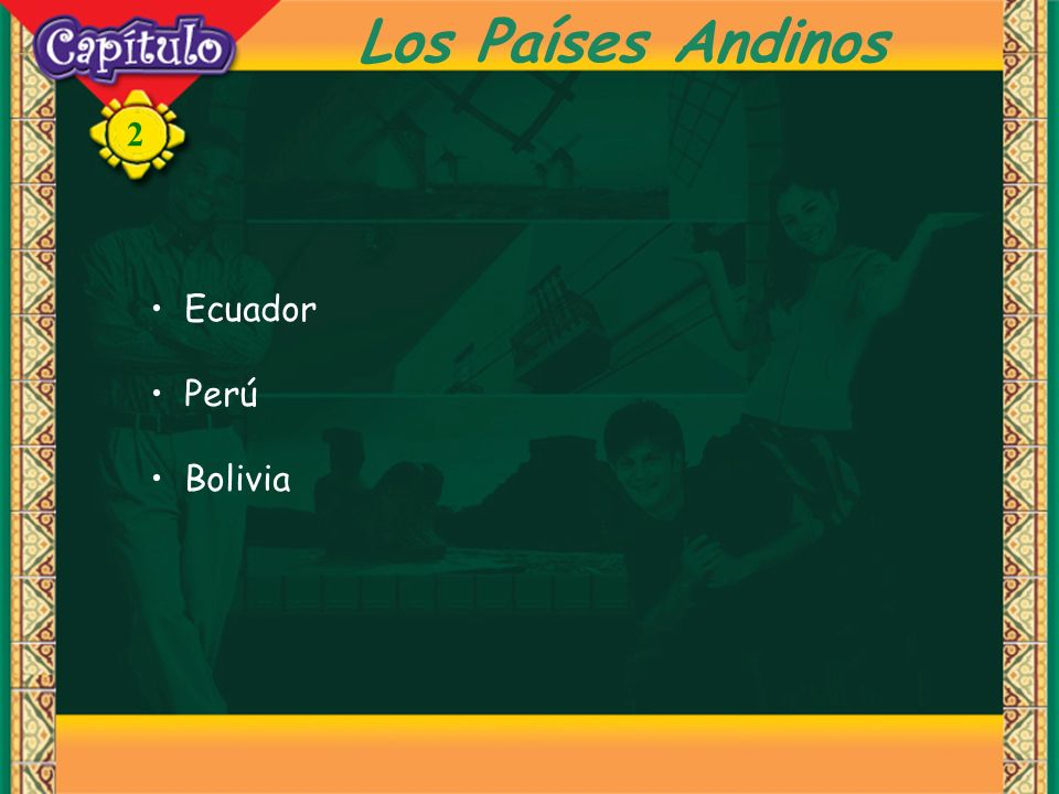 Los Países Andinos Ecuador Perú Bolivia