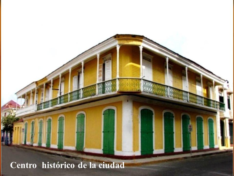 Centro histórico de la ciudad