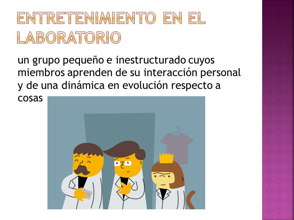Entretenimiento en el laboratorio