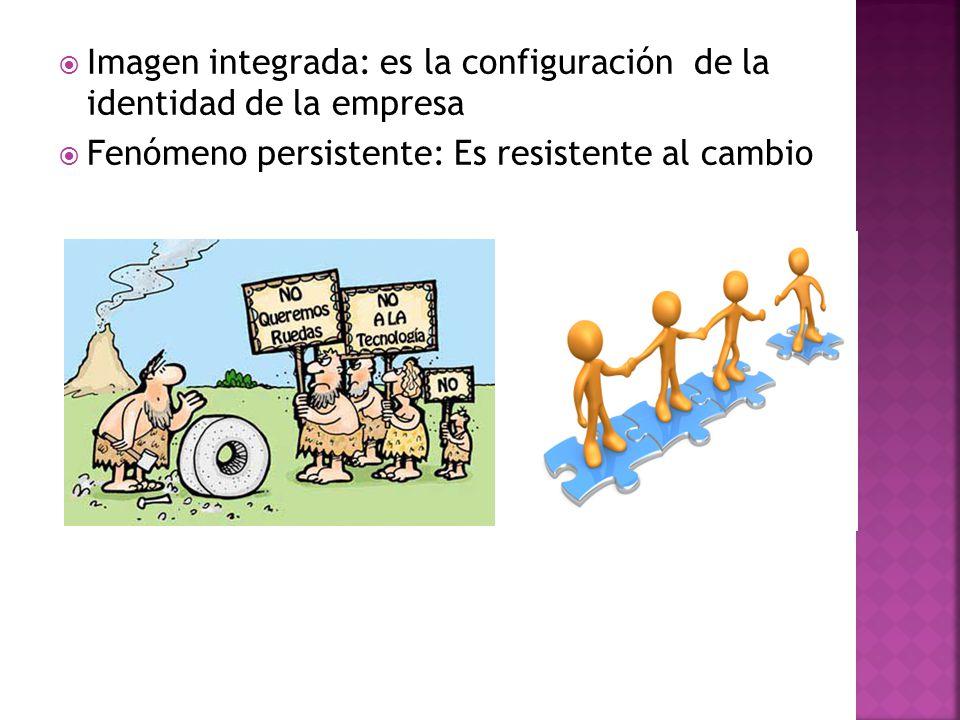 Imagen integrada: es la configuración de la identidad de la empresa