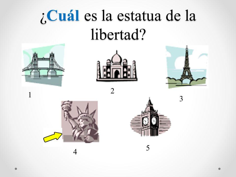 ¿Cuál es la estatua de la libertad