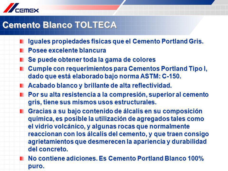 Cemento Blanco TOLTECA