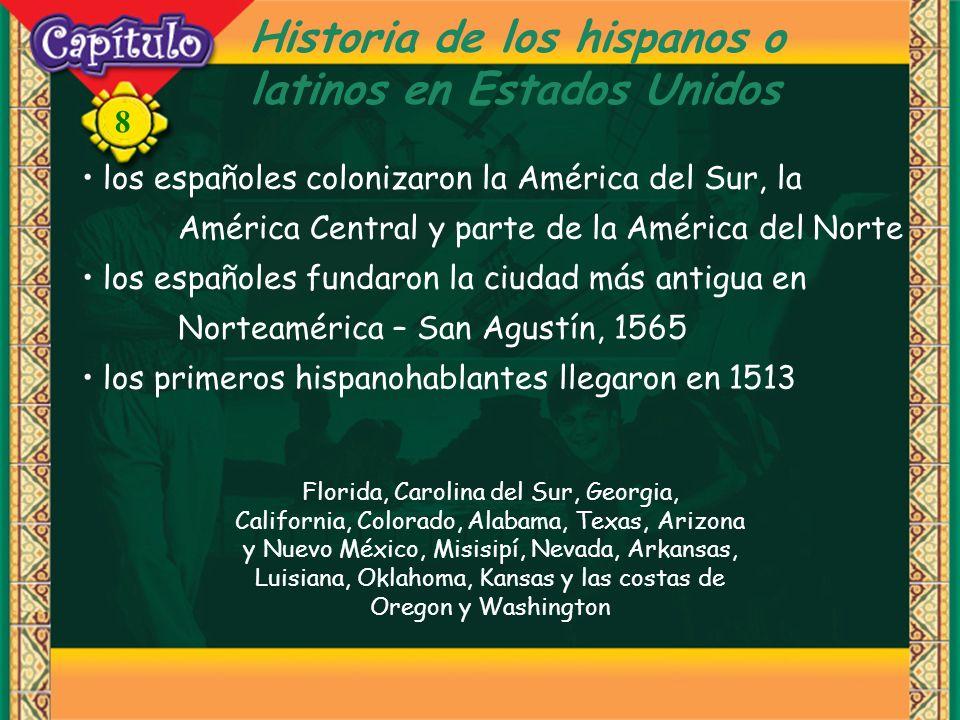 Historia de los hispanos o latinos en Estados Unidos