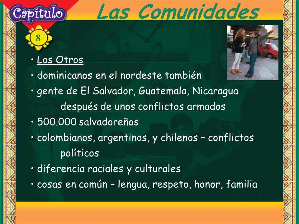 Las Comunidades Los Otros dominicanos en el nordeste también