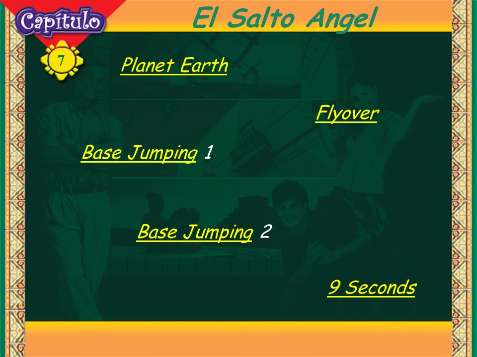 El Salto Angel Planet Earth Flyover Base Jumping 1 Base Jumping 2