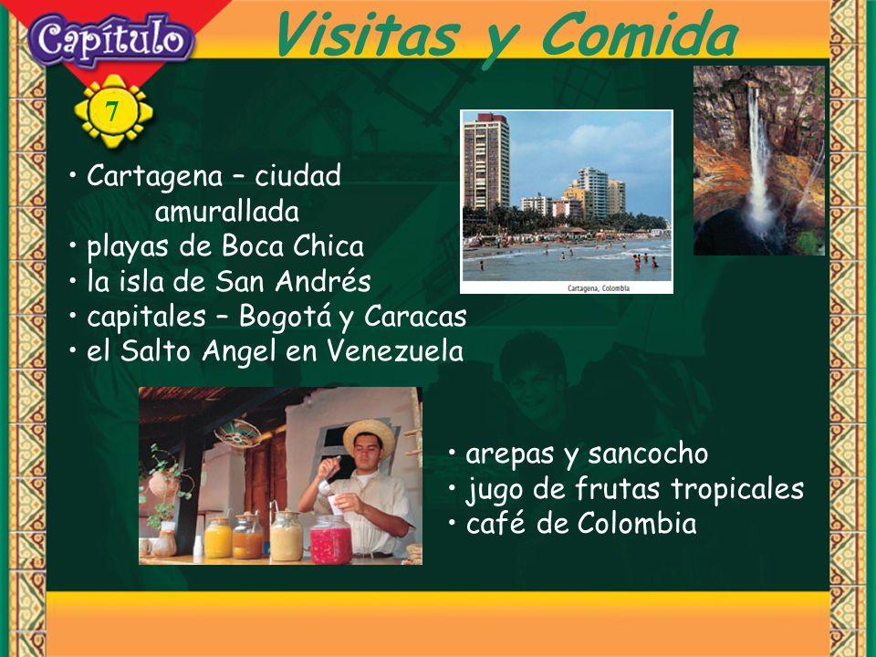 Visitas y Comida Cartagena – ciudad amurallada playas de Boca Chica