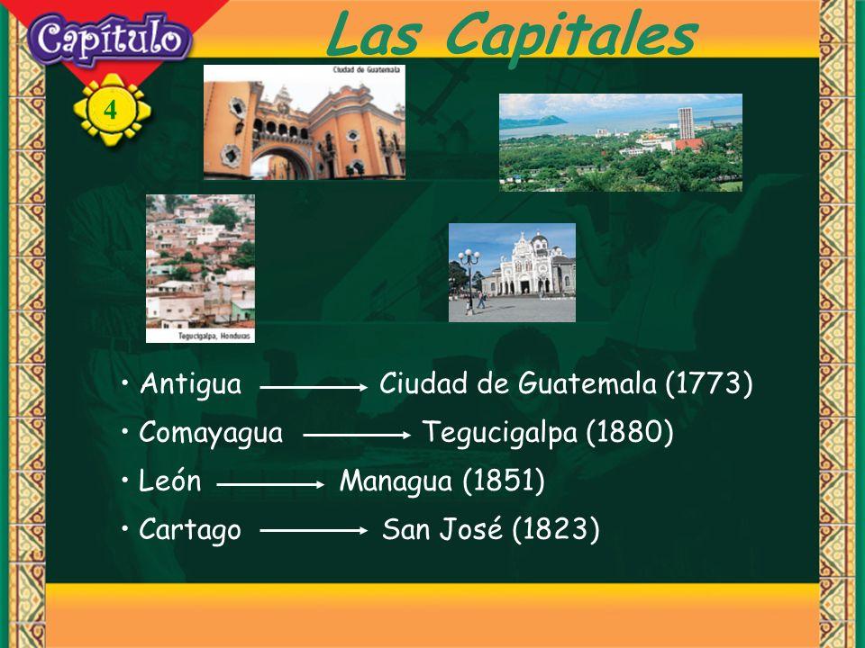 Las Capitales Antigua Ciudad de Guatemala (1773)