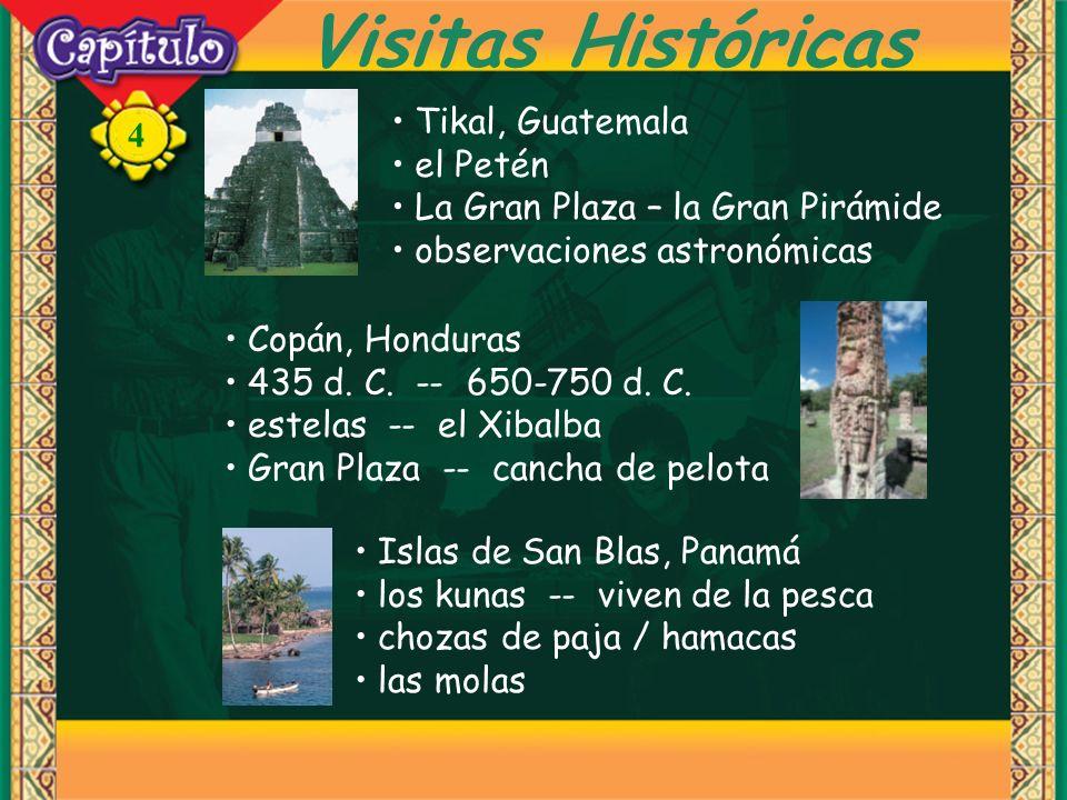 Visitas Históricas Tikal, Guatemala el Petén
