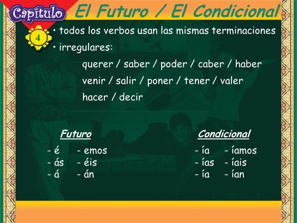 El Futuro / El Condicional
